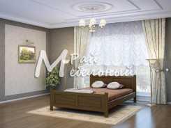 Полутороспальная кровать Гжель