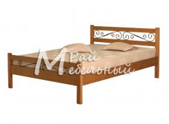 Кровать Гавана с ковкой