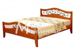 Кровать Виктория с ковкой