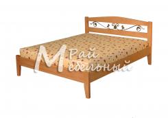 Кровать Вильнюс с ковкой