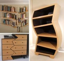 Креативная деревянная мебель