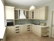 Подходит ли деревянная мебель для малогабаритной кухни