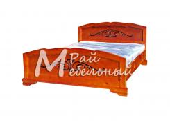Двуспальная кровать из березы Афины