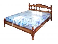 Двуспальная кровать из березы Анкара