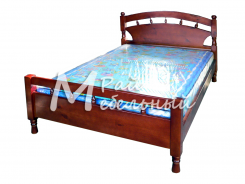 Двуспальная кровать из березы Баку