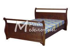 Двуспальная кровать из березы Белград