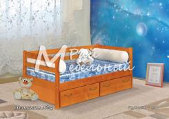 Кровать Детская-4 с ящиками