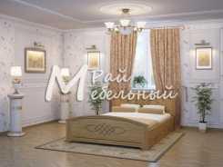 Полуторная кровать Валенсия с ящиками