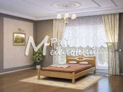 Двуспальная кровать из березы Верея