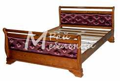 Полуторная кровать Рейкьявик ткань