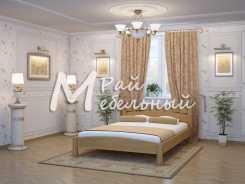 Двуспальная кровать из березы Березники