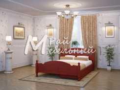 Полуторная кровать Москва с ящиками