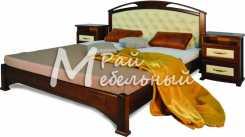 Двуспальная кровать из березы Бугульма