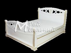 Двуспальная кровать из березы Алтай