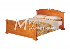 Двуспальная кровать из березы Ватикан