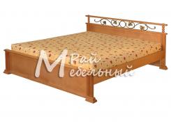 Кровать Вена с ковкой