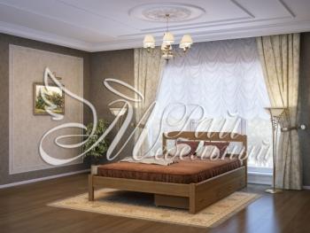 Полуторная кровать Рига с ящ