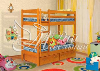 Кровать двухъярусная Детская 1