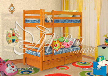 Кровать двухъярусная Детская -1