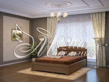 Двуспальная кровать Ватикан с ящ