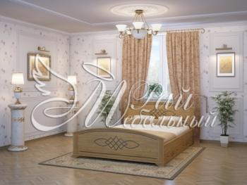 Двуспальная кровать Валенсия с ящ