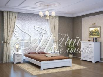 Спальня из массива Анталия (белый)