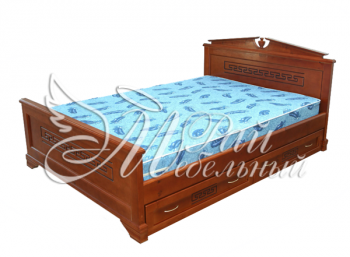 Полуторная кровать Осло с ящиками