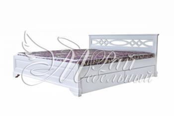 Полуторная кровать Париж с ящиками