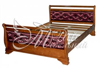 Двуспальная кровать Рейкьявик ткань
