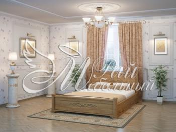 Односпальная кровать Бейрут с ящиками