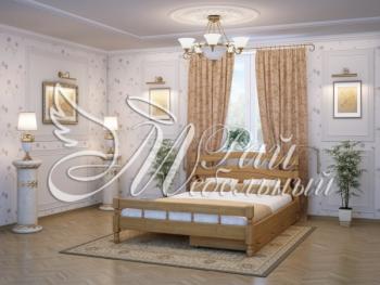 Полуторная кровать Баку с ящ