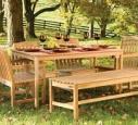 Преимущества мебели из массива сосны для сада и дачи