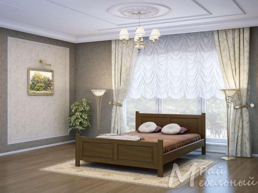 Двуспальная кровать Гжель