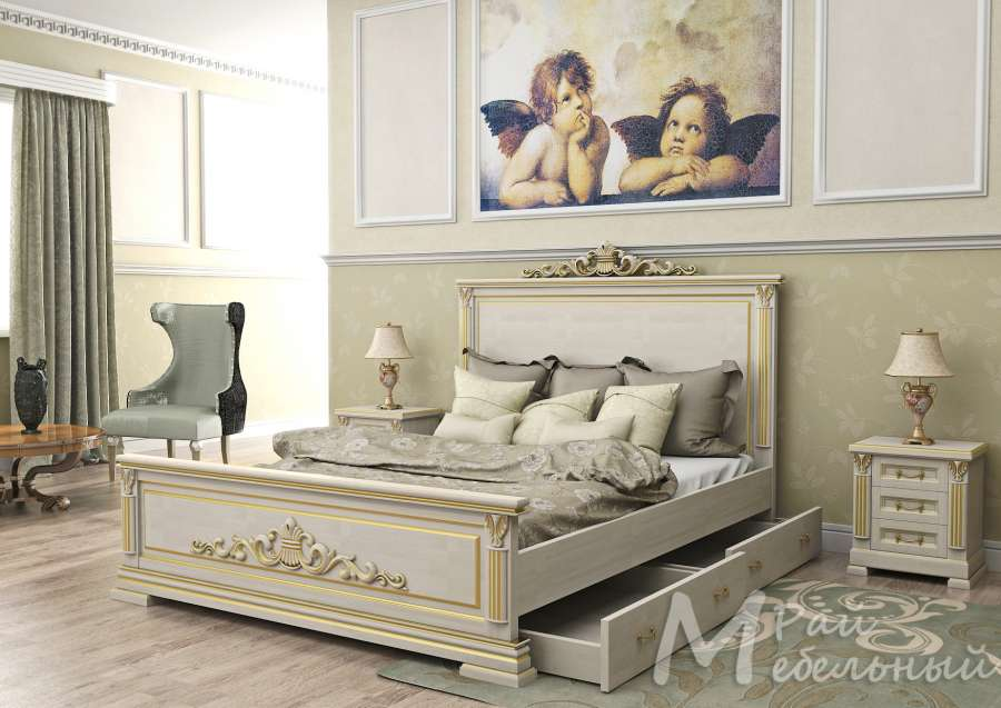 Кровать Британия-01