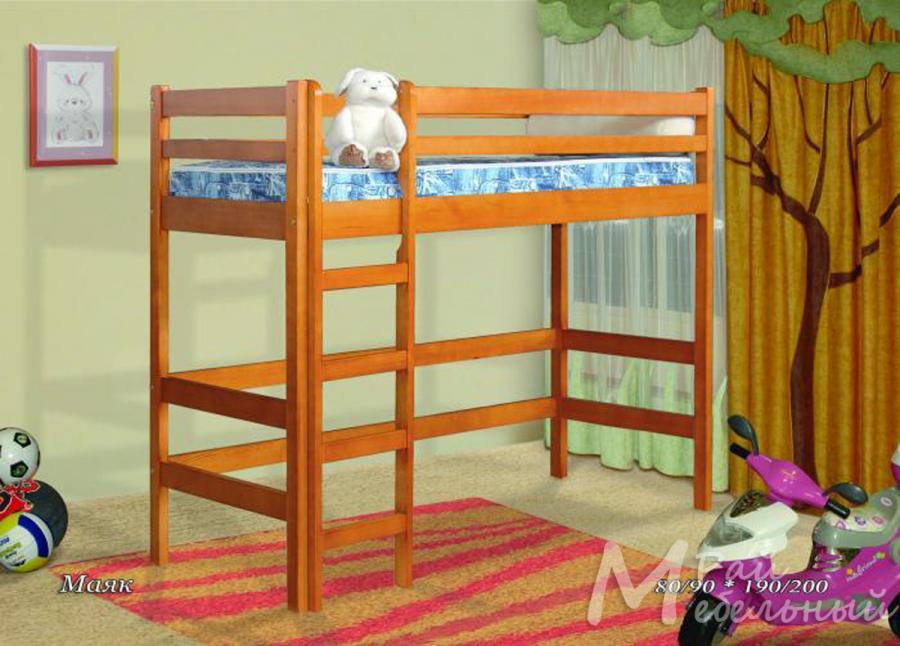 Кровать двухъярусная Маяк