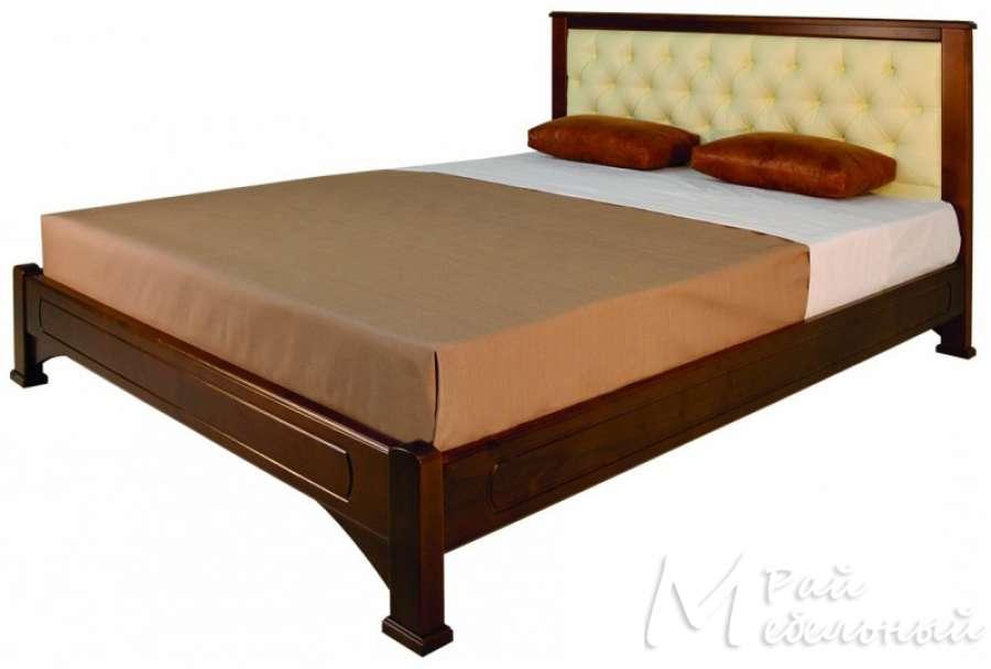 Двуспальная кровать Ветлуга