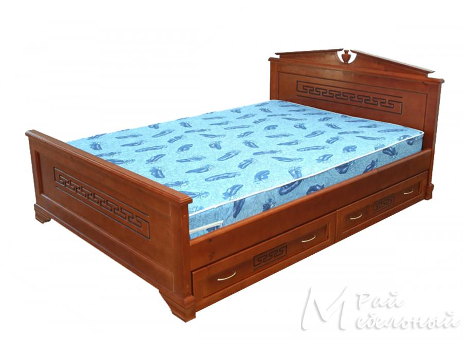 Односпальная кровать Осло с ящиками