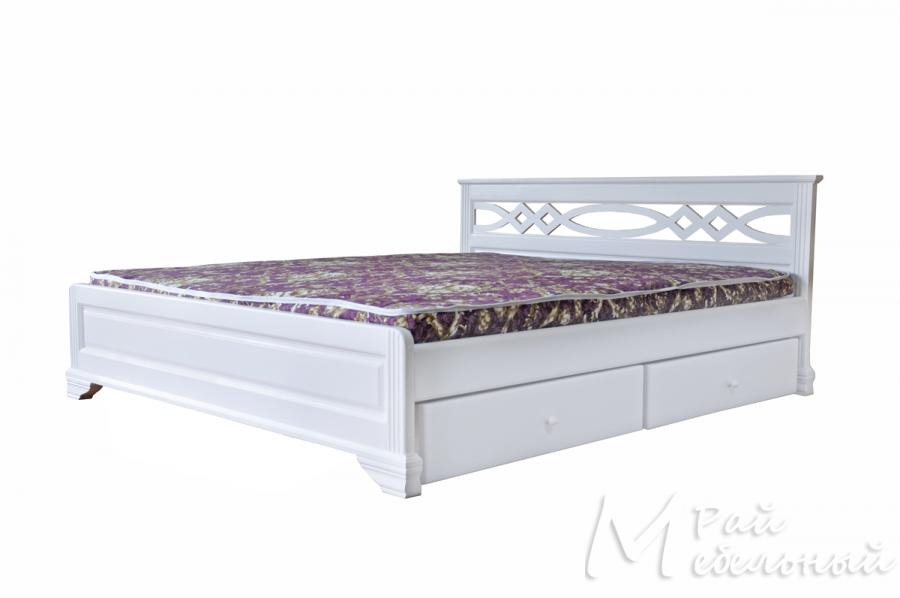 Двуспальная кровать Париж с ящиками