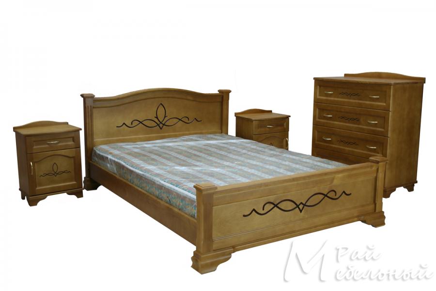 Спальня из массива Бейрут