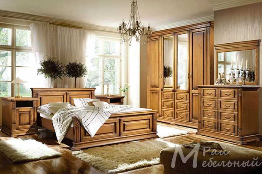 Спальня из массива Верди 1