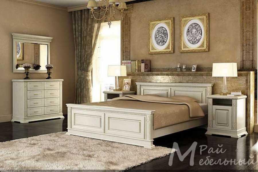 Спальня из массива Верди 3