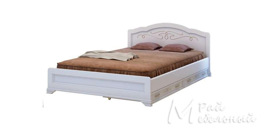 Двуспальная кровать Анталия с ящиками