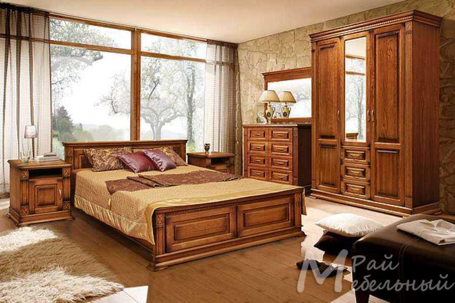 Спальня из массива Верди 4