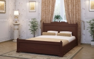 Кровать цвета Венге
